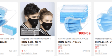 oferte masca protectie fata
