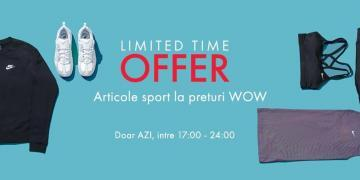 Fashion days oferta limitata sport