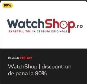 Promotii ceasuri pana la 90% Black Friday