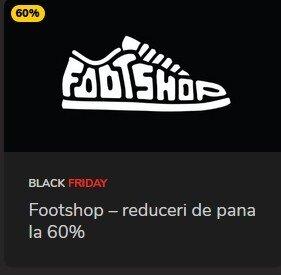 Reduceri Black Friday FootShop