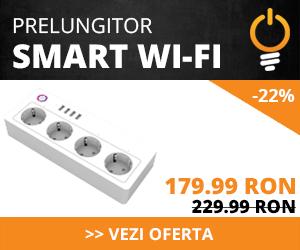 Reducere prelungitor smart WI-FI